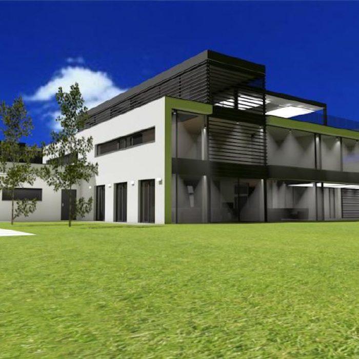 Bau Architektur Villa mit Seeanstoss Zuerichsee Sager Partner 3