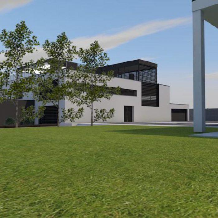 Bau Architektur Villa mit Seeanstoss Zuerichsee Sager Partner 4