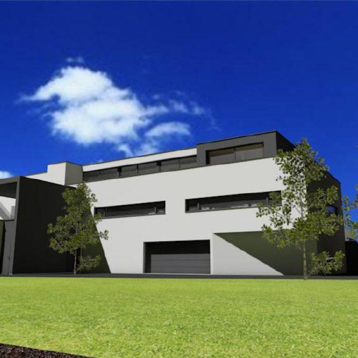 Bau Architektur Villa mit Seeanstoss Zuerichsee Sager Partner 5