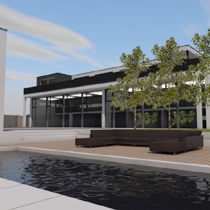 Bau Architektur Villa mit Seeanstoss Zuerichsee Sager Partner 6