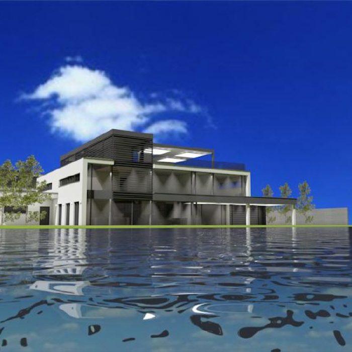 Bau Architektur Villa mit Seeanstoss Zuerichsee Sager Partner 8