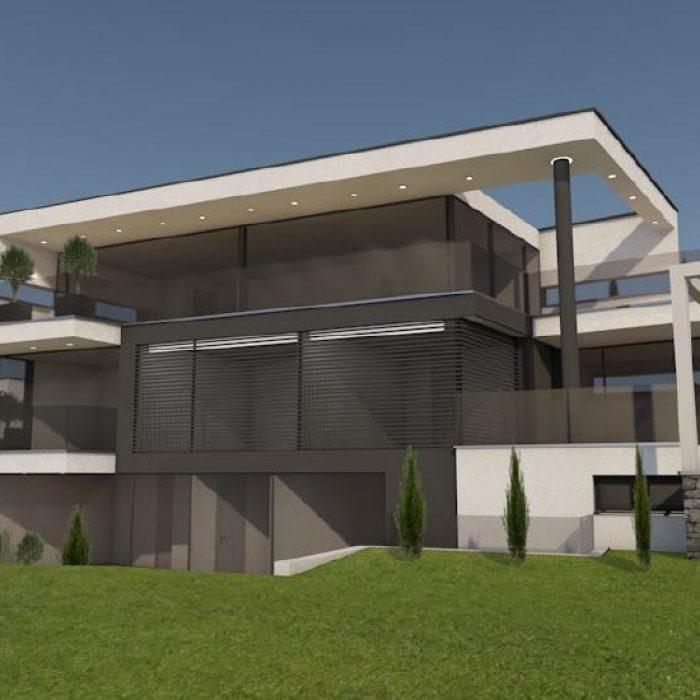 Bau Villen Einzelhäusern Sager Partner Wollerau 3
