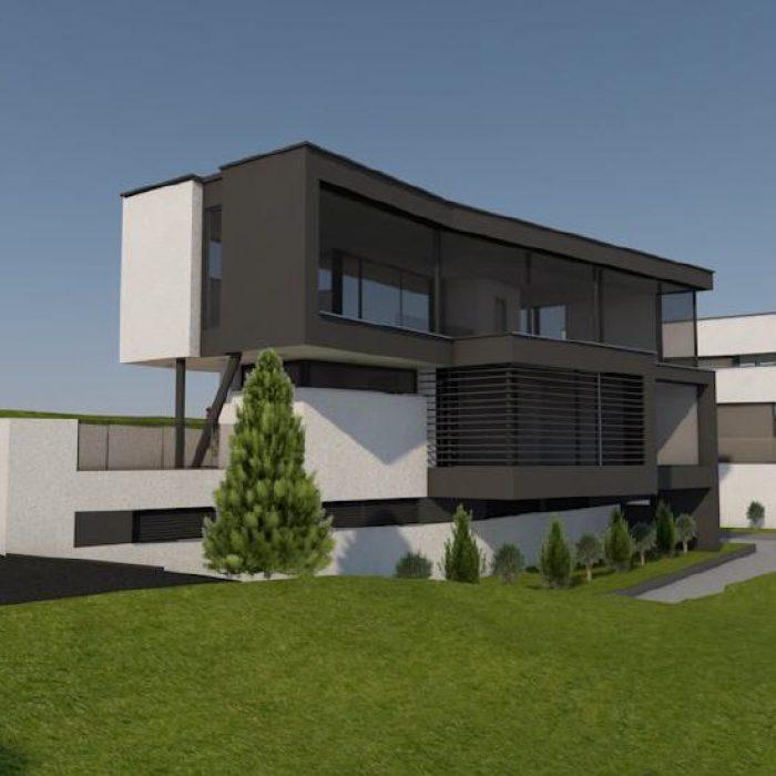 Bau Villen Einzelhäusern Sager Partner Wollerau 5