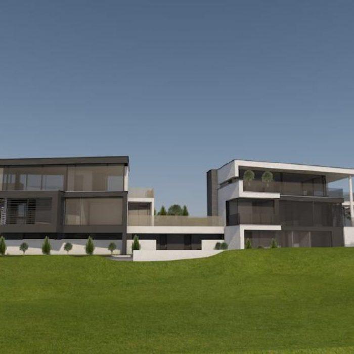 Bau Villen Einzelhäusern Sager Partner Wollerau