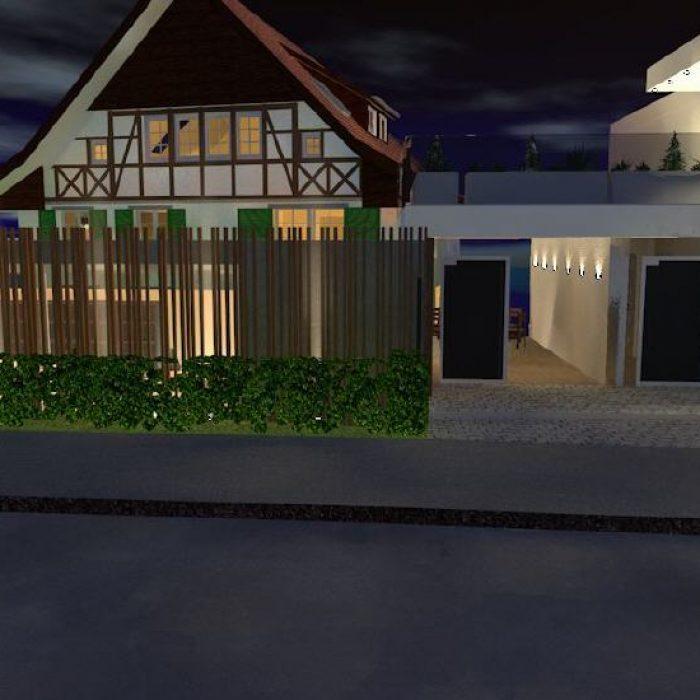 sager partner architekten neubau buerohaus mit dachwohnung 2