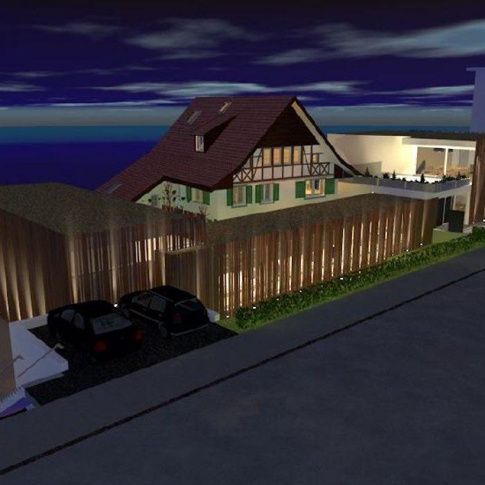 sager partner architekten neubau buerohaus mit dachwohnung 3